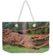 Watch Me Go Video Still Catching Sand Weekender Tote Bag