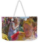 Watch Your Eyes Weekender Tote Bag