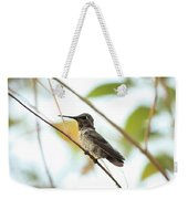 Watchful Hummingbird Weekender Tote Bag