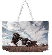Watching Clouds Float Across The Sky Weekender Tote Bag
