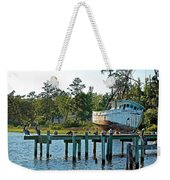 Watching Morning Star Weekender Tote Bag