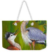 Watching Over Junior Weekender Tote Bag