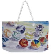 Watching Over My Marbles Weekender Tote Bag