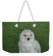 Watching Owl Weekender Tote Bag