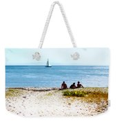 Watching The Boats Pass By Weekender Tote Bag