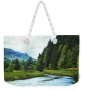 Watching The Days Go By Weekender Tote Bag