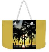 Watching The Hawaiian Sunset  Weekender Tote Bag