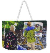 Watching The Maestro Weekender Tote Bag