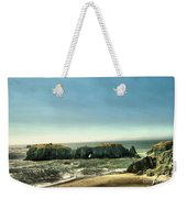 Watching The Rocks And Waves Weekender Tote Bag