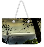 Watching The Ships Go By Weekender Tote Bag