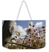 Watching The Sun Weekender Tote Bag