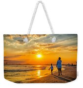 Watching The Sunset Weekender Tote Bag