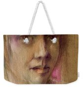 Watching The Wheels Weekender Tote Bag
