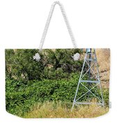 Water Aerating Windmill For Ponds And Lakes Weekender Tote Bag