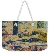 Water And River Delta  Weekender Tote Bag