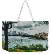 Water And Scenery Weekender Tote Bag
