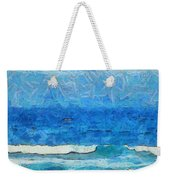 Water And Sky Weekender Tote Bag