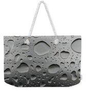 Water And Steel Weekender Tote Bag
