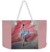 Water Ballerina Weekender Tote Bag