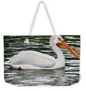 Water Bird With Notches Weekender Tote Bag