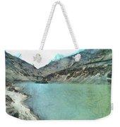 Water Body In The Himalayas Weekender Tote Bag