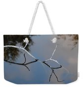 Water Bridge In Color Weekender Tote Bag