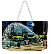 Water Canon In Color Weekender Tote Bag