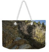 Water Canyon Sky View Weekender Tote Bag