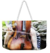 Water Cello  Weekender Tote Bag
