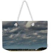 Water, Clouds And Sun. Weekender Tote Bag