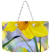 Water Color Daffodil Weekender Tote Bag