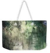 Water Color Weekender Tote Bag