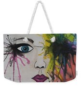 Water Colour - Face Weekender Tote Bag