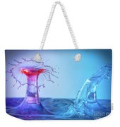 Water Drop 25 Weekender Tote Bag