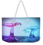 Water Drop 27 Weekender Tote Bag