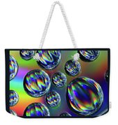 Water Droplets 4 Weekender Tote Bag