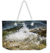 Water Elemental Weekender Tote Bag