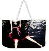 Water Faerie Weekender Tote Bag by Scott Sawyer