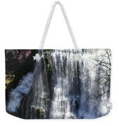Water Fall In Tennessee  Weekender Tote Bag