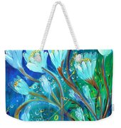 Water Flowers Weekender Tote Bag