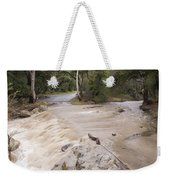 Water Flowing In The North Fork Weekender Tote Bag