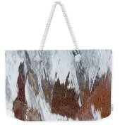 Water Fountain Abstract #34 Weekender Tote Bag
