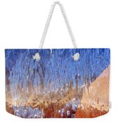 Water Fountain Abstract #63 Weekender Tote Bag
