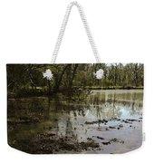 Water Garden Lake View Weekender Tote Bag