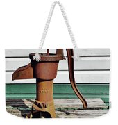 Water Hand Pump Weekender Tote Bag
