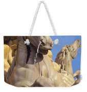 Water Horse Sculpture Weekender Tote Bag