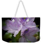 Water Hyacinth Weekender Tote Bag