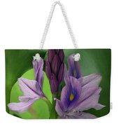 Water Hyacinth Weekender Tote Bag