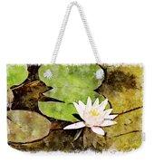 Water Hyacinth Two Wc Weekender Tote Bag
