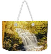 Water In Fall Weekender Tote Bag